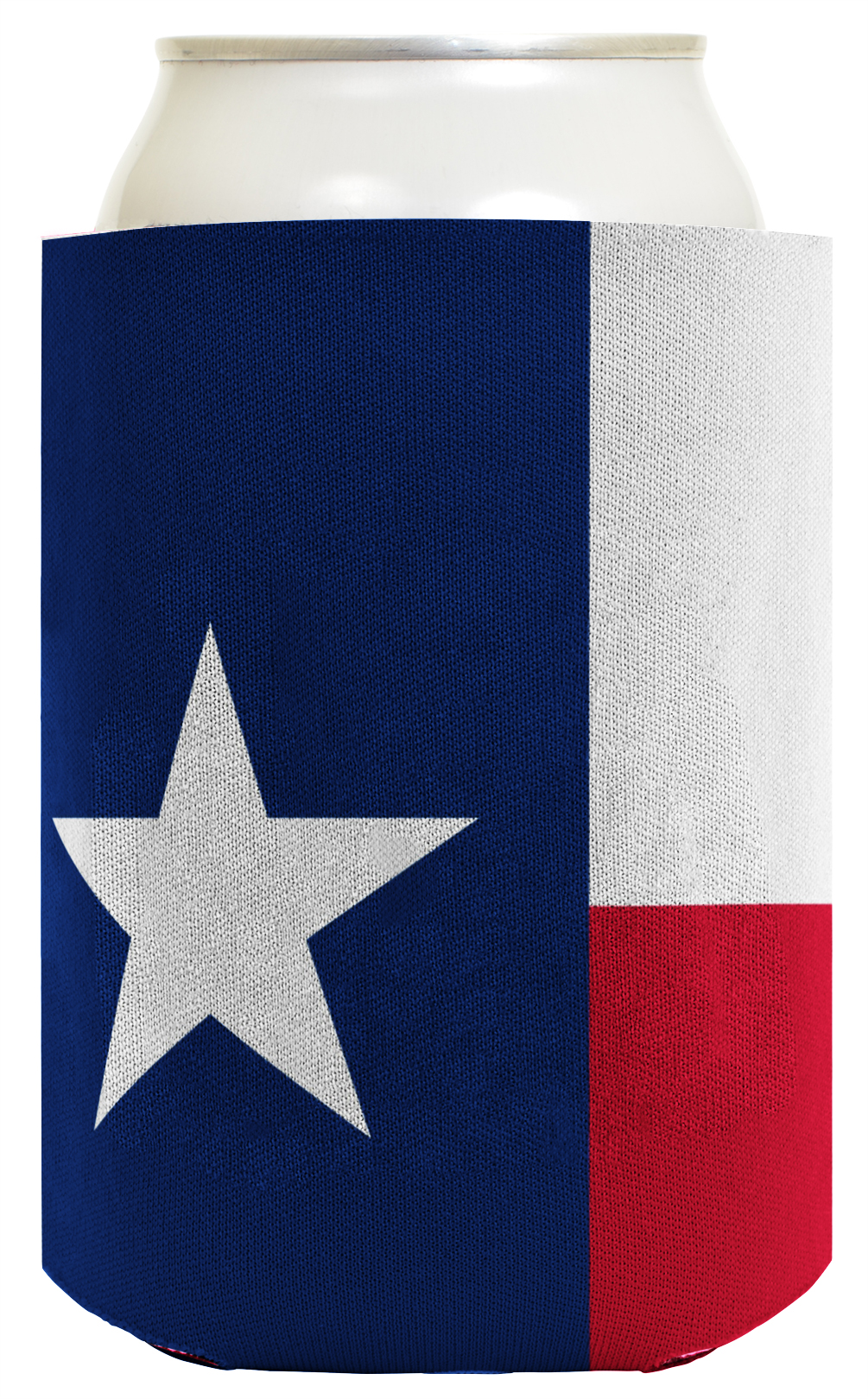 Funny Beer Coolie Texas Flag Lone Star State Pride Can Coolies