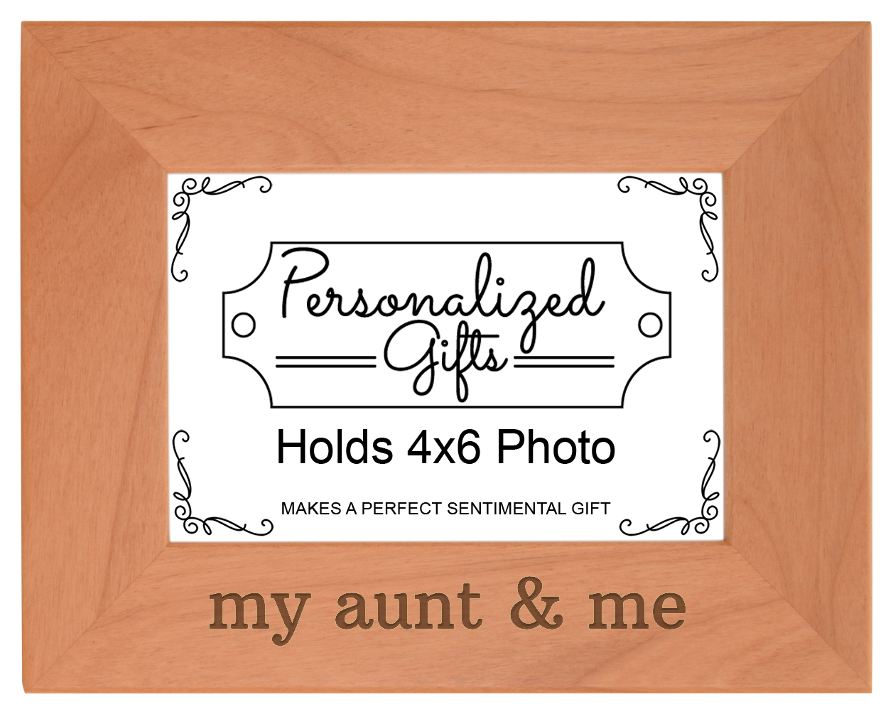 New Aunt Gifts Aunt Me New Aunt Engraved Natural Wood Frame | eBay