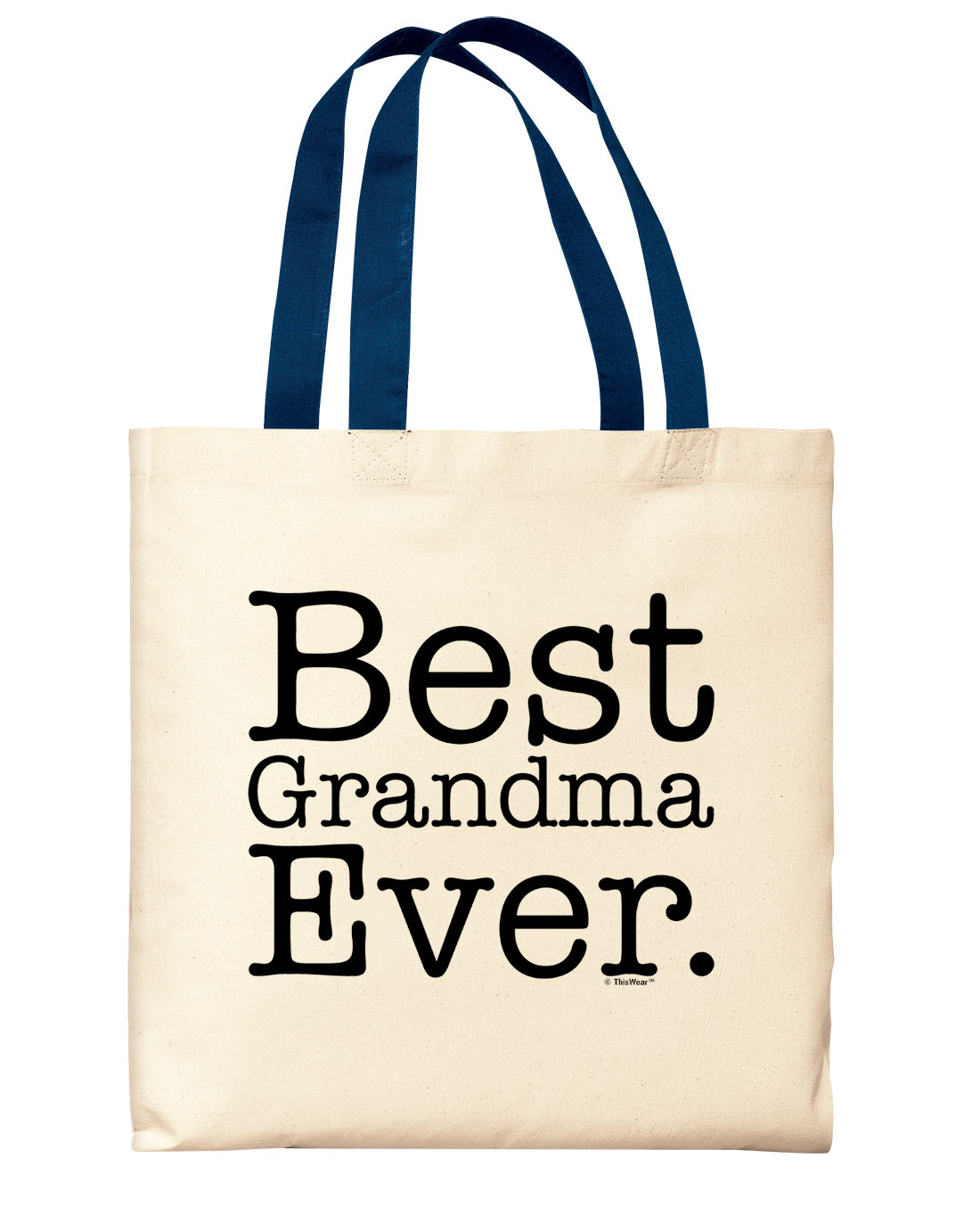 Details About New Grandma Gifts Best Grandma Ever Gift Ideas For Grandma Black Canvas Tote Bag